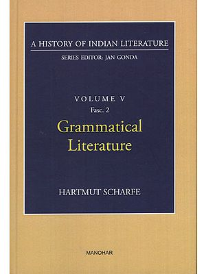 Grammatical Literature (A History of Indian Literature, Volume V, Fasc. 2)