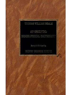 Thomas William Beale- An Oriental Biographical Dictionary