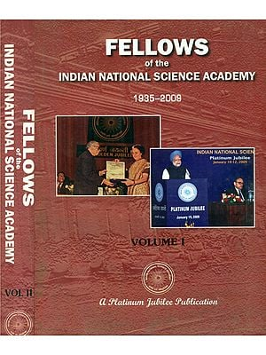 Fellows of the Indian National Science Academy 1935-2009- Biographical Notes (Set of 2 Volumes)