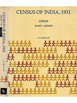 Census of India, 1931 Assam (A Set of 2 Volumes)