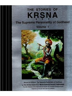 The Stories of Shri Krishna- The Supreme Personality of Godhead (Set of 4 Volumes)