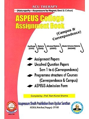 ASPEUS College Assignment Book (Campus and Correspondence)
