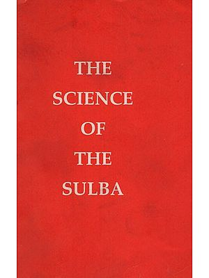 The Science of The Sulba (An Old and Rare Book)