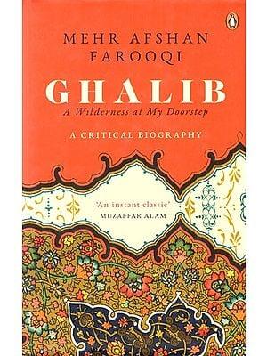Mehr Afshan Farooqi Ghalib- A Wilderness at My Doorstep (A Critical Biography)