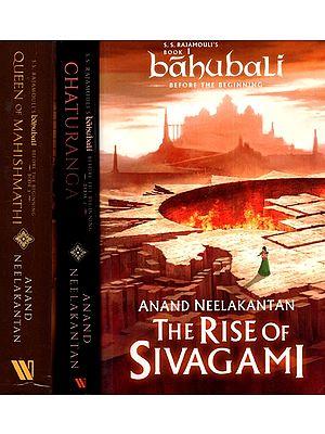 Bahubali (Before the Beginning in Set of 3 Volumes)