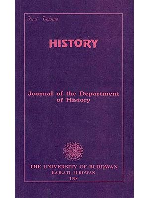 History : Journal of the Department of History (An Old and Rare Book)