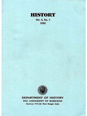 History (Vol. V, No. 1, - 2002)