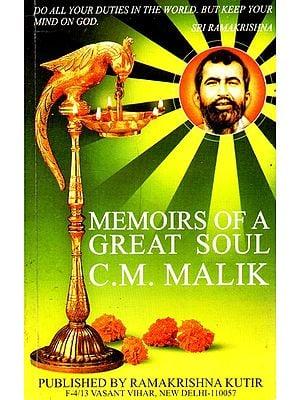 Memoirs of A Great Soul
