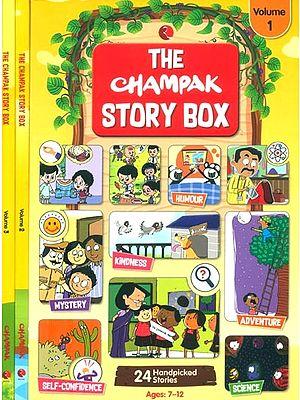 The Champak Story Box- Children Magazine (Set of 3 Volumes)