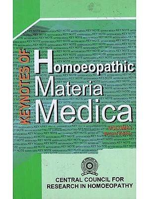 Keynotes of Homoeopathic Materia Medica (Vol- I)