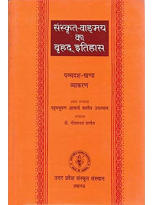 संस्कृत वांग्मय का बृहद इतिहास (व्याकरण): History of Sanskrit Literature Series (History of Sanskrit Grammar)