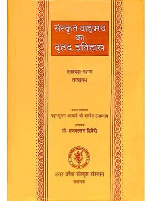 संस्कृत वांग्मय का बृहद् इतिहास (तन्त्रागम): History of Sanskrit Literature Series (History of Tantra & Agamas)