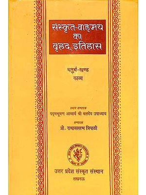 संस्कृत वांग्मय का बृहद् इतिहास (काव्य): History of Sanskrit Literature Series (History of Sanskrit Kavya)