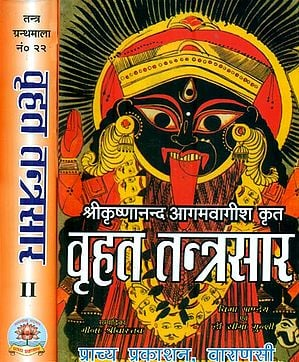 वृहत तन्त्रसार : Vrihat Tantra Sara (Set of 2 Volumes)