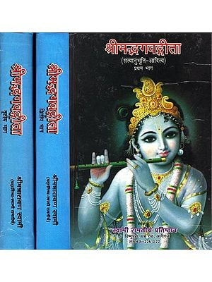 श्रीमद्भगवतगीता: Srimad Bhagwat Gita (Set of Three Volumes)