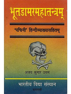 भूतडामरतन्त्रम: Bhoota Damara Tantra (An Old and Rare Book)