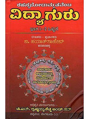 ರಹಸ್ಯಬೋಧಾಮೃತವೆಂ  ವಿದ್ಯಾಗುರು: Mystery of Bodhamrita Vidya (Kannada)