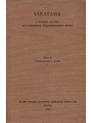 Saratama: A Panjika on the Astashsrika Prajnaparamita Sutra (An Old and Rare Book)