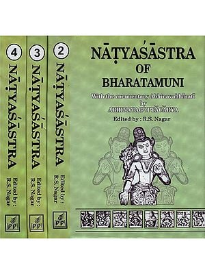 Natyasastra of Bharatamuni (Set of 4 Volumes)