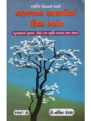 નક્ષત્રજન્ય વનસ્પતિના સિદ્ધ પ્રયોગો: Nakshatrajanya Vanaspatina Siddh Prayogo