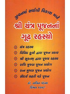 શ્રી યંત્ર યૂજનનાં ગૂઢ  રહસ્યો: Shree Yantra Yujanna Gudha Rahasyo (Gujarati)