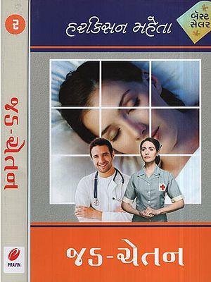 Jad Chetna – Novel in Gujarati (Set of 2 Volumes)