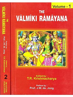 The Valmiki Ramayana (Set of 2 Volumes)