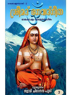 Bhagavad Gita in Malayalam (Vol - III)