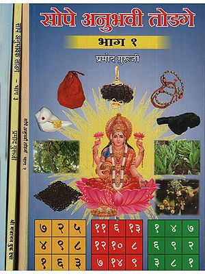 सोपे अनुभवी टोटके - Simple and Experience Totake in Marathi (Set of 4 Volumes)