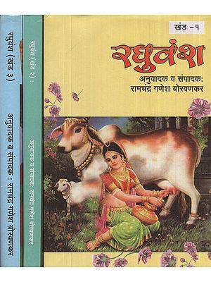 रघुवंश – Raghuvansh in Marathi (Set of 3 Volumes)