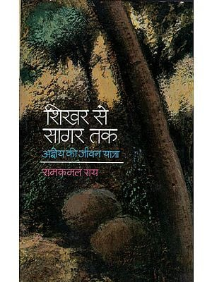 शिखर से सागर तक (अज्ञेय की जीवन यात्रा): Shikhar se Sagar Tak - Biography by Ramkamal Rai (An Old and Rare Book)