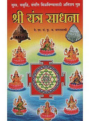 श्री यंत्र साधना - Shri Yantra Sadhana (Marathi)