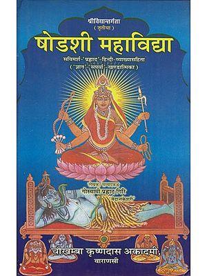 षोडशी महाविद्या: Shodashi Mahavidya
