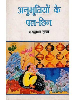 अनुभूतियों के पल-छिन: Anubhootiyon Ke Pal-Chhin (Hindi Stories)