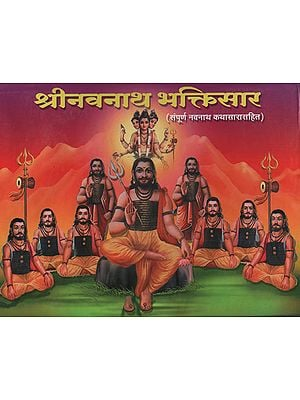 श्री नावनाथ भक्तिसार  संपूर्ण नवनाथ कथासारासहित - Shri Navnath Bhaktisar With the Entire Navnath Story (Marathi)