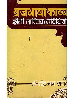 ब्रजभाषा काव्य शैली तात्विक प्रविधियां: Brajbhasha Poetic Style Elemental Techniques