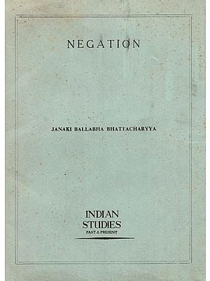 Negation (An Old and Rare Book)