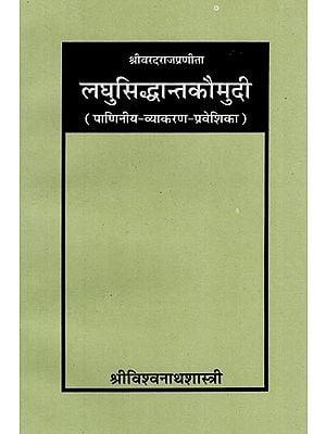 लघुसिद्धान्तकौमुदि: Laghu Siddhanta Kaumudi (An Old and Rare Book)