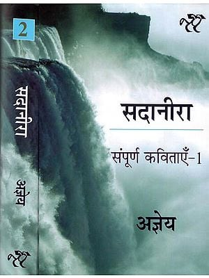 सदानीरा: Sadanira-Complete Set of Hindi Poems by Ajneya (Set of 2 Volumes)