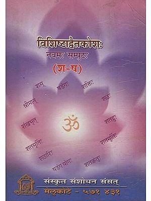 विशिष्टाद्वैतकोश: - Visistadvaita Kosha (Volume-IX)