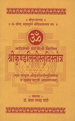 श्रीकुण्डलिनीस्तुतिस्तोत्र - Shri Kundalini Stuti Stotra (Marathi)