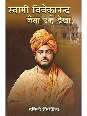 स्वामी विवेकानद जैसा उन्हें देखा - The Way Swami Vivekananda Was Seen