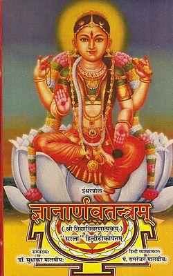 ज्ञानार्णवतन्त्रम् - Gyana Arnava Tantram (Sri Vidya Vivranatmakam)
