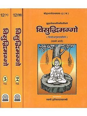 विसुद्धिमग्गो: The Visuddhimagga of Siri Buddha Ghosacariya (Set of 3 Volumes)