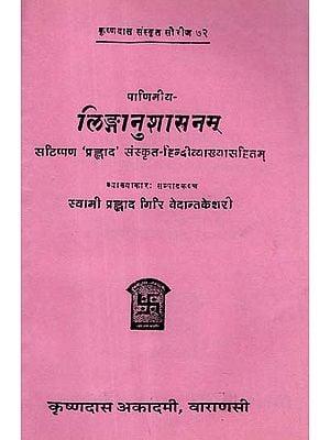 लिङ्गानुशासनम्: Linga Anushasanam of Panini (An Old and Rare Book)