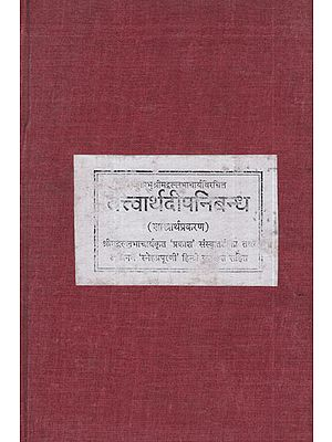 तत्त्वार्थदीपनिबंध- Tatvarthadeep Nibandh (Photostat)