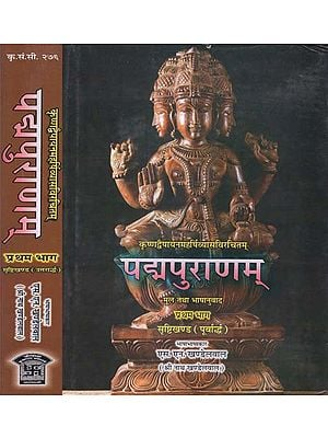 पद्मपुराणम् - Padma Purana (Set of 2 Volumes)