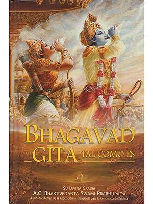 Bhagavad Gita As It Is (In Spanish)