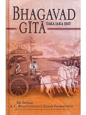 Bhagavad Gita As It Is (In Polish)