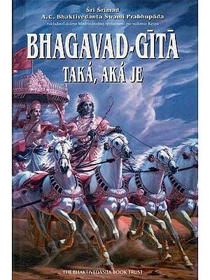 Bhagavad Gita As It Is (In Slovak Language)